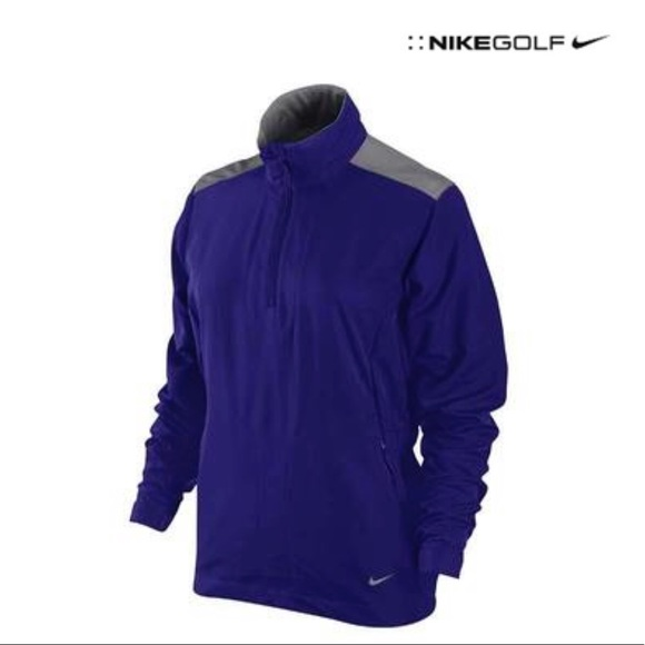 19d88e6c6 Nike Jackets & Coats | Ladies Windproof 12 Zip Jacket Size L | Poshmark